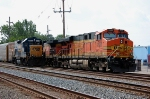 BNSF 7680 & CSX 1500